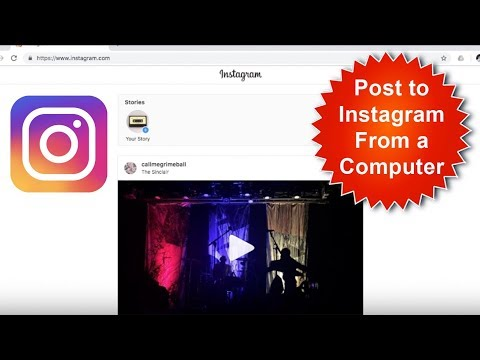 How To Post To Instagram From Computer/Laptop