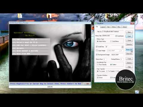 Creating a Multiboot CD/DVD with Easyboot by britec