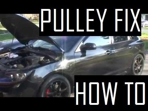Mazda 3 Tensioner Pulley Fix [HD]