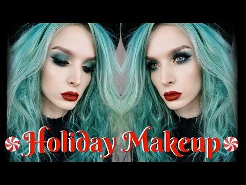 Holiday Makeup Tutorial   KVD Metal Matte Palette