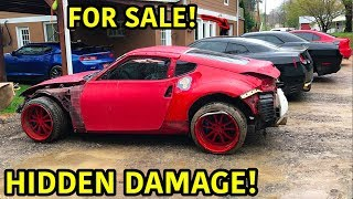 Auction Drift Car Has Hidden Damage!!!