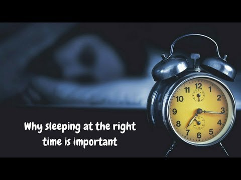 Go To Sleep Early