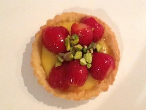Strawberry Lemon Curd Tarts - Super Simple Kitchen Recipe