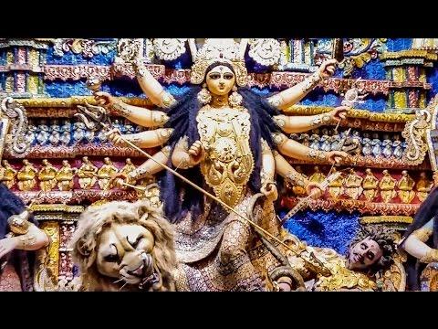 SREEBHUMI DURGA PUJA 2016 -PURI JAGANNATH TEMPLE THEME AND GOLD ORNAMENTS