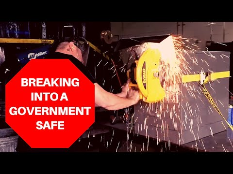 Breaking into a government safe