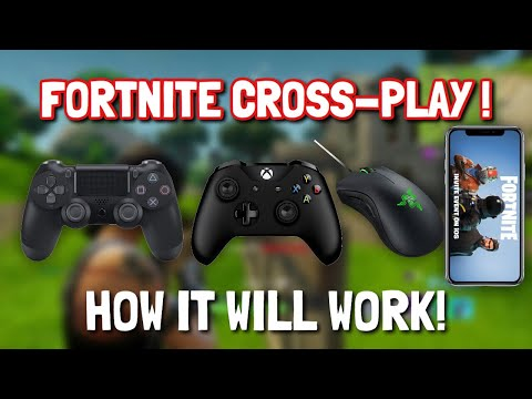 FORTNITE PS4, XBOX, PC, IOS, ANDROID CROSS-PLAY ! ( How it's going to work! Official News !)