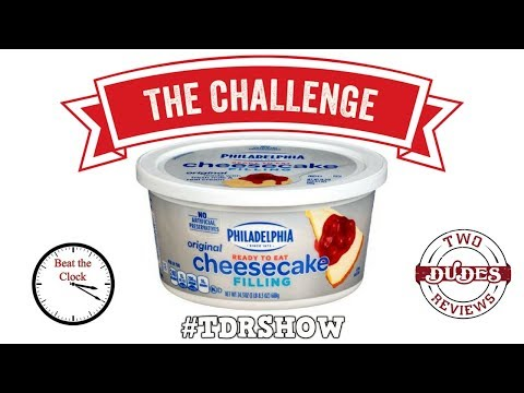Philadelphia Ready-to-Eat Cheesecake Filling Challenge - Beat the Clock!