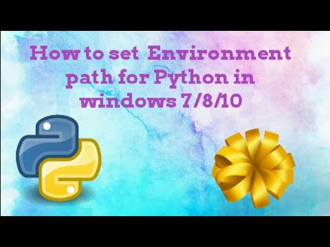 How to Add Python Path to Environment Variables in Windows 7 || Tamil