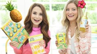 Download TRYING FUN PINEAPPLE TREATS w/ iJustine! Video