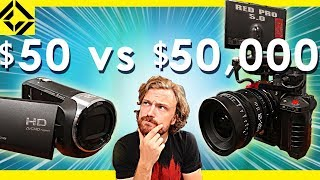 $50 Camera Vs $50,000 Camera