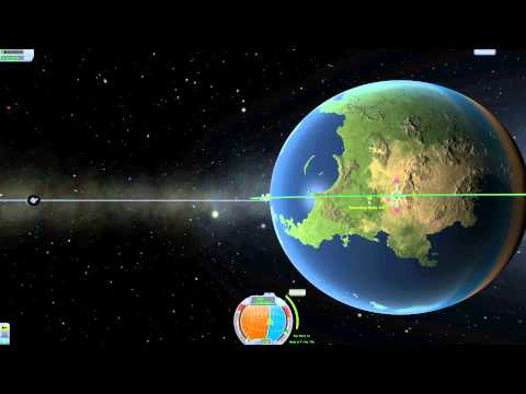 Kerbal Space Program Tutorial #7 - Orbital Rendezvous and Docking