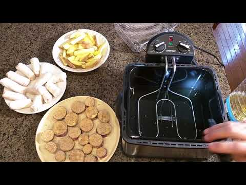 Full review & test of the Chefman Deep Fryer with Basket Strainer