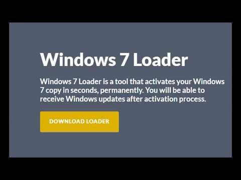 windows 7 activator  تفعيل وندوز 7