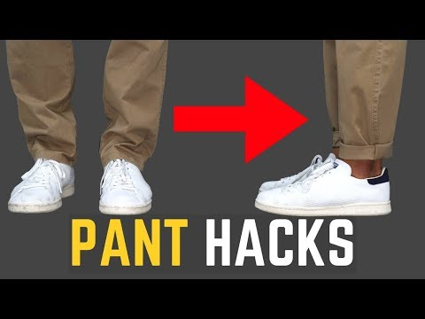 5 Pant Hacks Every Guy Should Know