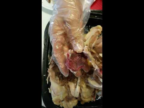 Uncooked Seasoned Rotissiere Chicken bought @ Costco.