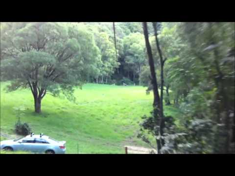 600 Foot long Zipline - How to build a fast zip line flying fox