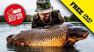NASH 2015 DVD BOX SET Carp Fishing + Subtitles Complete Movie in 1080P