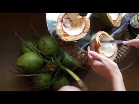 Coconut sashimi (Guam)