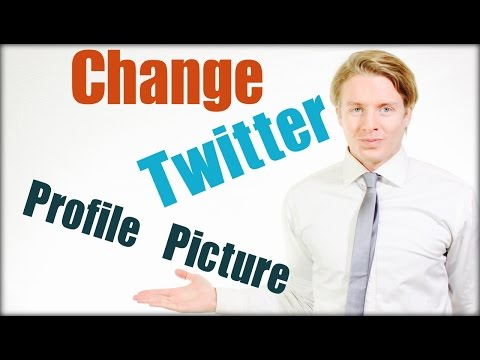 How to change Twitter profile picture - Tutorial