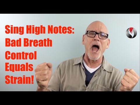 Ep 23  Sing High Notes  Bad Breath Control Equals Straining!