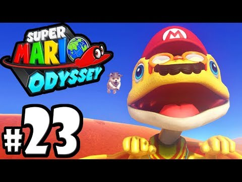 Super Mario Odyssey - Nintendo Switch Gameplay Walkthrough PART 23: Tostarena Moons - Sand Kingdom
