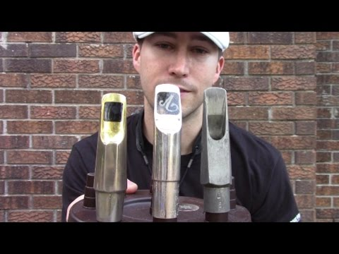 Smooth Jazz Review: Saxophone Set Ups - Mouthpieces Pt1