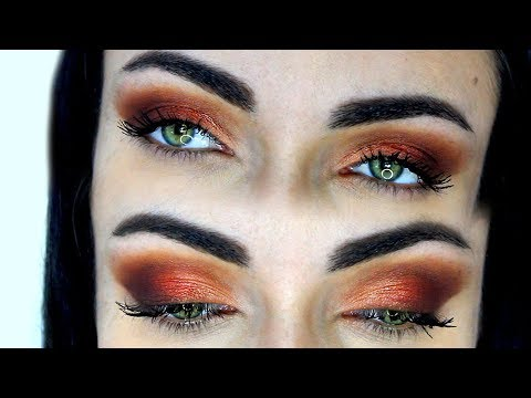 Warm Cat Eye Makeup Tutorial | MakeupAndArtFreak