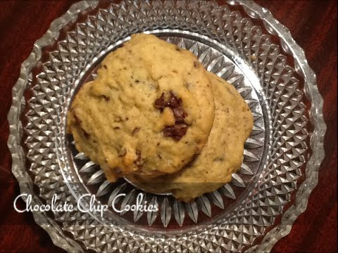 Chocolate Chip Cookies Recipe - Easy Soft Chewy Entenmann's Style - SuperSimpleKitchen