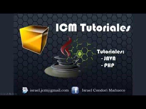 ICM tutoriales - Crear un word con Apache POI en Java