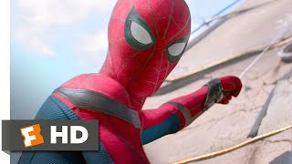 Spider man Homecoming 2017 Washington Monument Rescue Scene 310 Movieclips