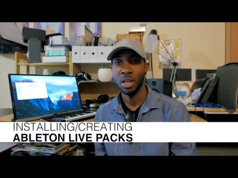 How to Install & Create Ableton Live Packs