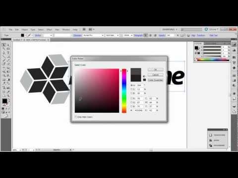 3d logo tutorial (illustrator cs5)