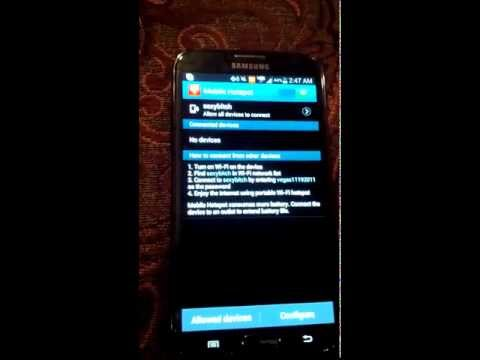 How to get Verizon Mobile Hotspot w/o rooting and paying extra