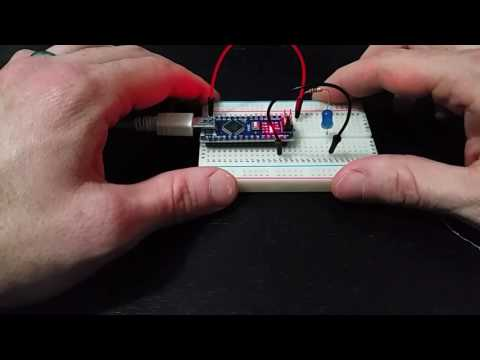 How to Blink an LED with an Arduino Nano