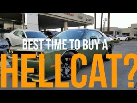Is Now the Best Time to Buy a Hellcat?