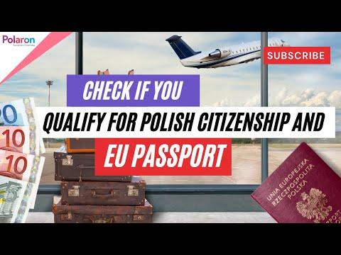 Check if you qualify for Polish citizenship and EU passport