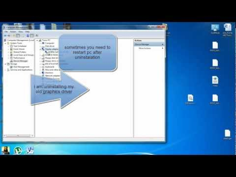 How to uninstall and install Windows 7 hardware (HD)