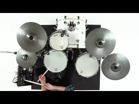 Make your drum kit hybrid with Roland PowerPly mesh heads