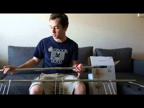 How to assemble Target's Shower Tension Rod Caddy