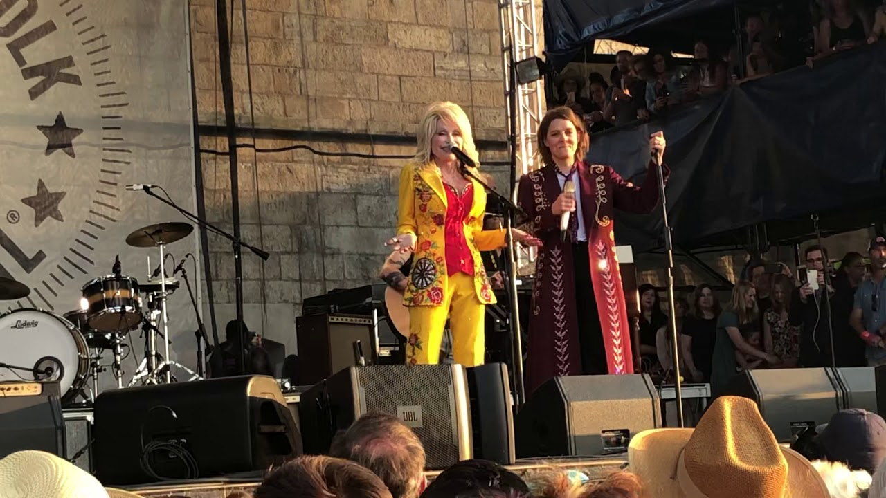 """Dolly Parton and Brandi Carlile, """"I Will Always Love You"""""""
