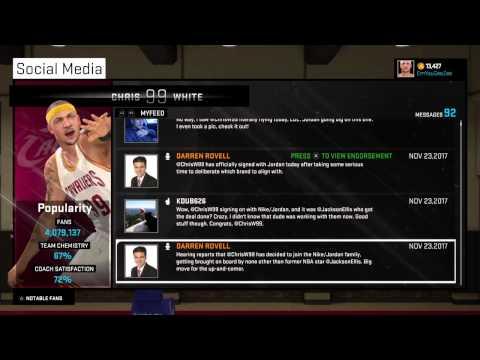 How to get nike\jordan deal in NBA 2k15 Part 2