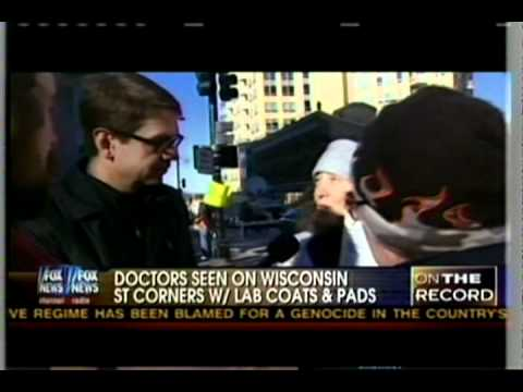 FOX Reporter Confronts