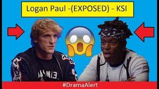 LOGAN PAUL EXPOSED KSI (FOOTAGE) #DramaAlert
