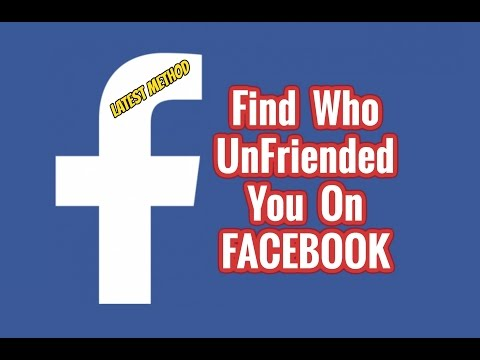 Find Out Who Unfriended You On Facebook | Quickly