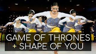 Game of Thrones + Shape of You Carnatic Mix (Indian Raga, Mahesh Raghvan) | Kruti Dance Academy