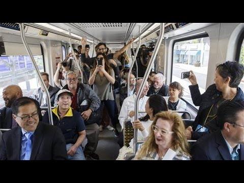 LA's Rush Hour Showdown: Car vs. Train