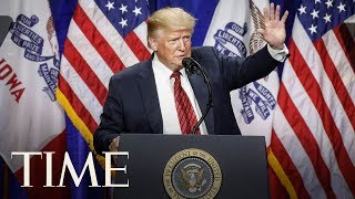President Trump Delivers Remarks At The American Veterans 75th National Convention | TIME