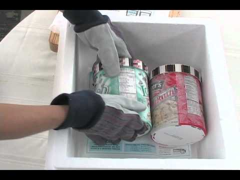 Dry Ice Ideas | Transporting Frozen Foods