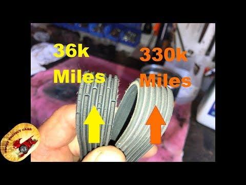 NEVER! Replace an Alternator Belt/Serpentine Belt AGAIN !
