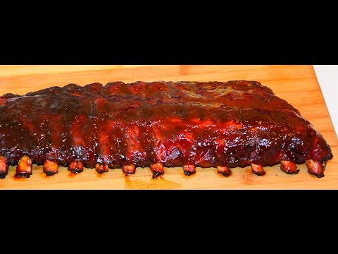 Fall-Off-The-Bone Ribs - Baby Back BBQ Ribs - Grill Or Smoker